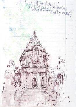 Ashton Memorial sketch