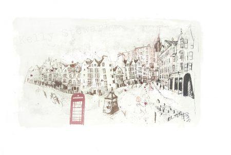 Grassmarket and Victoria Street