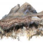 watercolour, pastel and pencil 76cm x 50cm