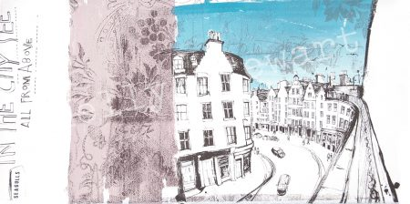 Seagulls On victoria Street sketch
