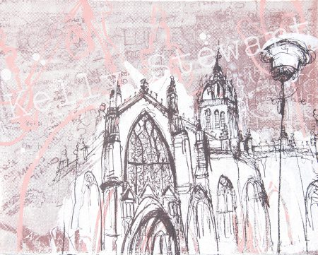 St Giles Cathedral mini print