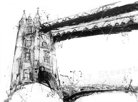 Tower Bridge BW