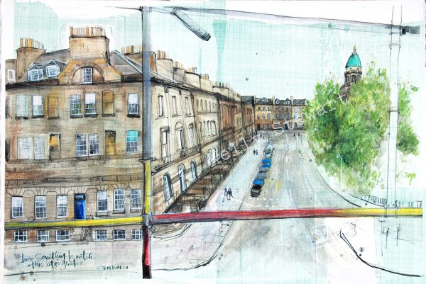 A birthday gift for a stonemason/ building conservator who has spent most of his life seeing Edinburgh from a height.