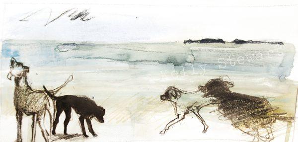 watercolour and pencil 25cm x 15cm